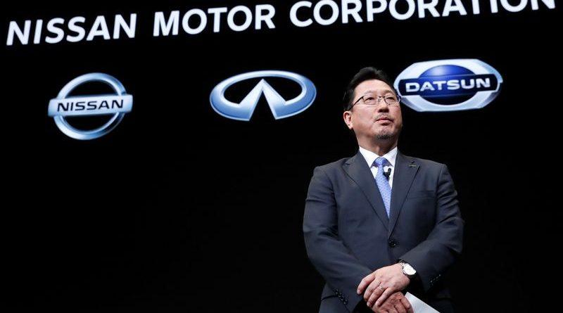 El subdirector de operaciones de Nissan, Yoon Seki, en una conferencia de prensa en Yokohama